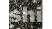 Черная мраморная крошка (щебень) фракция 10-20 мм