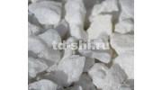 Белая мраморная крошка (щебень) фракция 5-10 мм